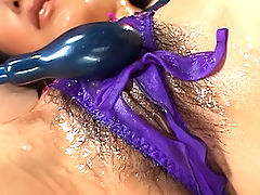 Kyoka Ishiguro Asian model has toys she uses for masturbation