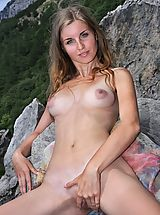 Tiny Breasts, Femjoy - Verena S. in Premiere