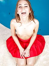 Riley Reid Slutty Wife reveals her bare cans, draws down her lingerie and spreads her thighs and masturbates her wet snatch
